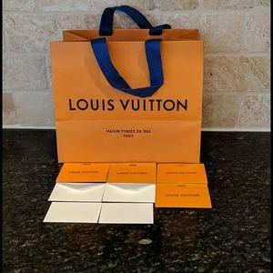 Louis vuitton Shopping Bag & Gift cards